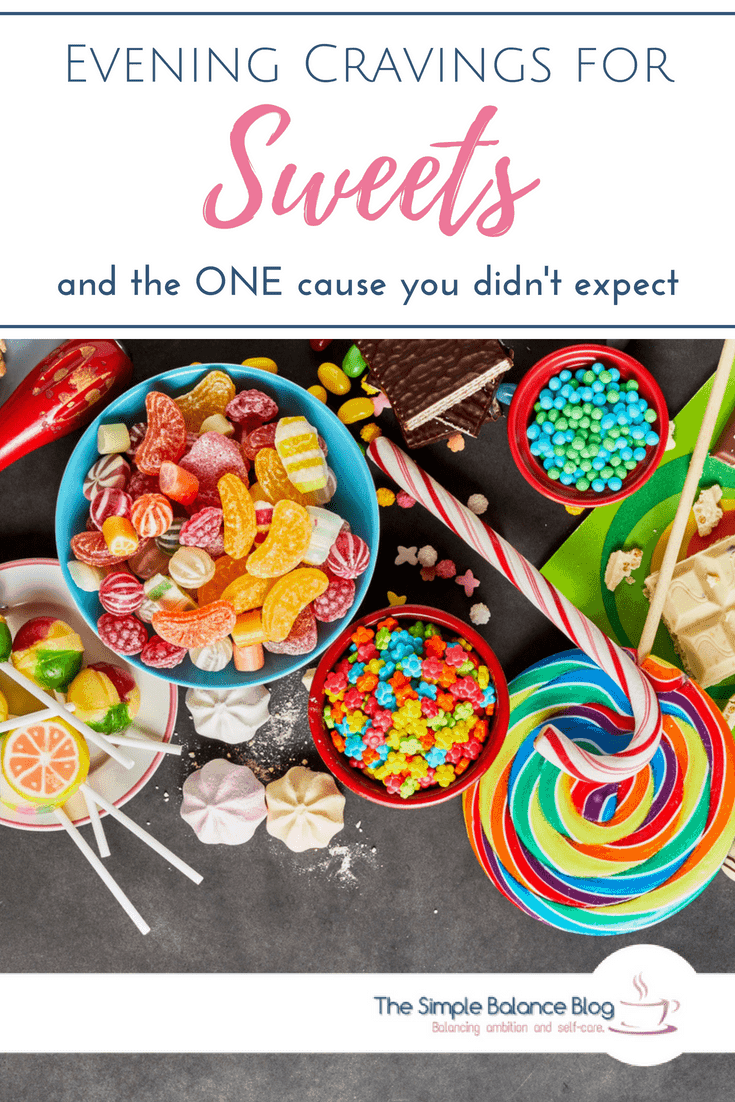 If you experience cravings for sweets, particularly in the evening, you need to take a look at this one underlying cause. If you are looking to lose weight, then craving carbohydrates at night might get in the way of that. So you want to be sure to check out the meaning of these food cravings - you probably won't expect their cause. Even your sleep might get better!. #stopcravings #sleep #weightloss #aminoacids