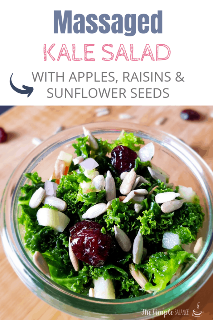 Massaged Kale Salad With Apple and Cranberries 7