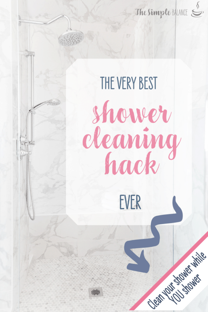 The best shower cleaning tip ever 5