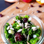 Massaged Kale Salad With Apple and Cranberries 2