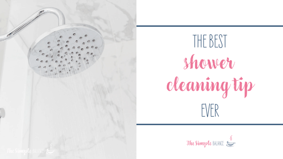 The best shower cleaning tip ever 2