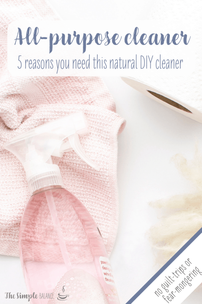Natural all-purpose cleaner: 5 reasons you need this 5