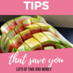 food prep tips image for Pinterest