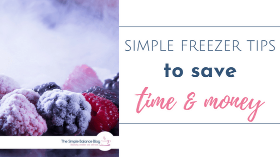 simple freezer tips title image