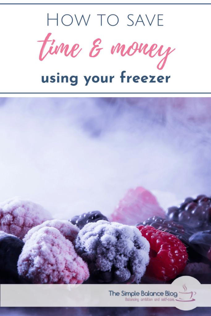simple freezer tips pinterest image