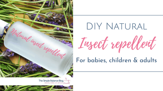 DIY Natural Insect Repellent - for babies, children and adults 2