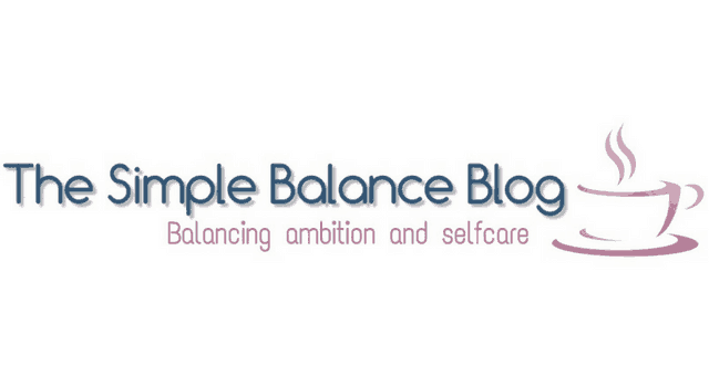 The simple balance blog logo