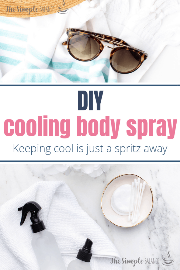 Cooling Body Spray - 3 homemade solutions that soothe your skin 4