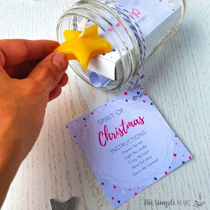 15 minutes of Christmas in a jar