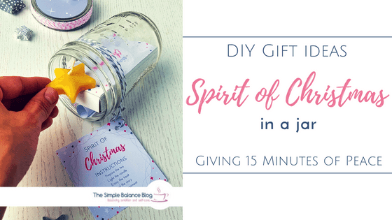 Spirit of Christmas in a jar title image