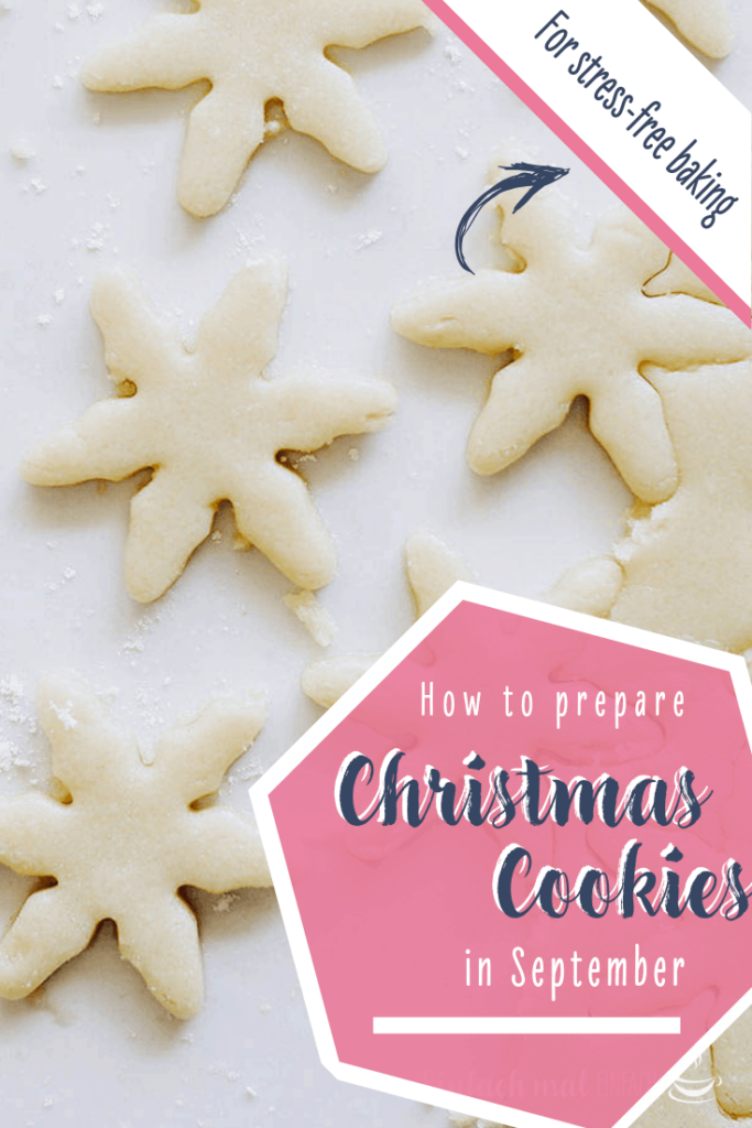 How to prepare Christmas cookies in September 4