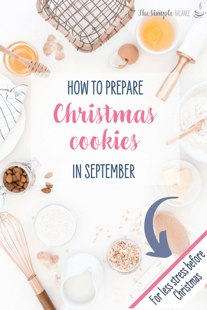 How to prepare Christmas cookies in September 6