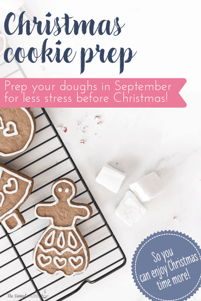 How to prepare Christmas cookies in September 5