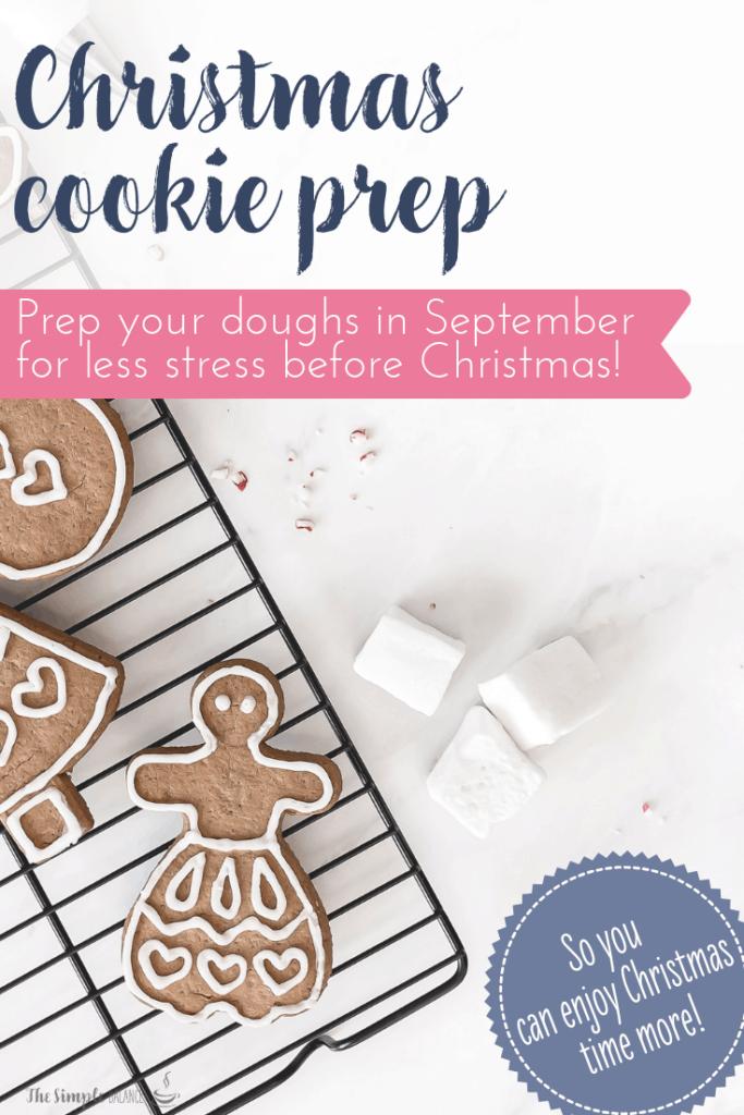 How to prepare Christmas cookies in September 5