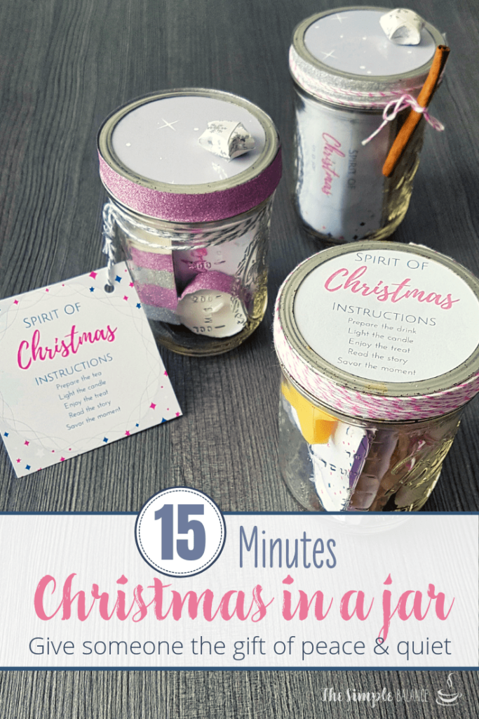 DIY gift idea: 15 Minutes of Christmas in a jar 6