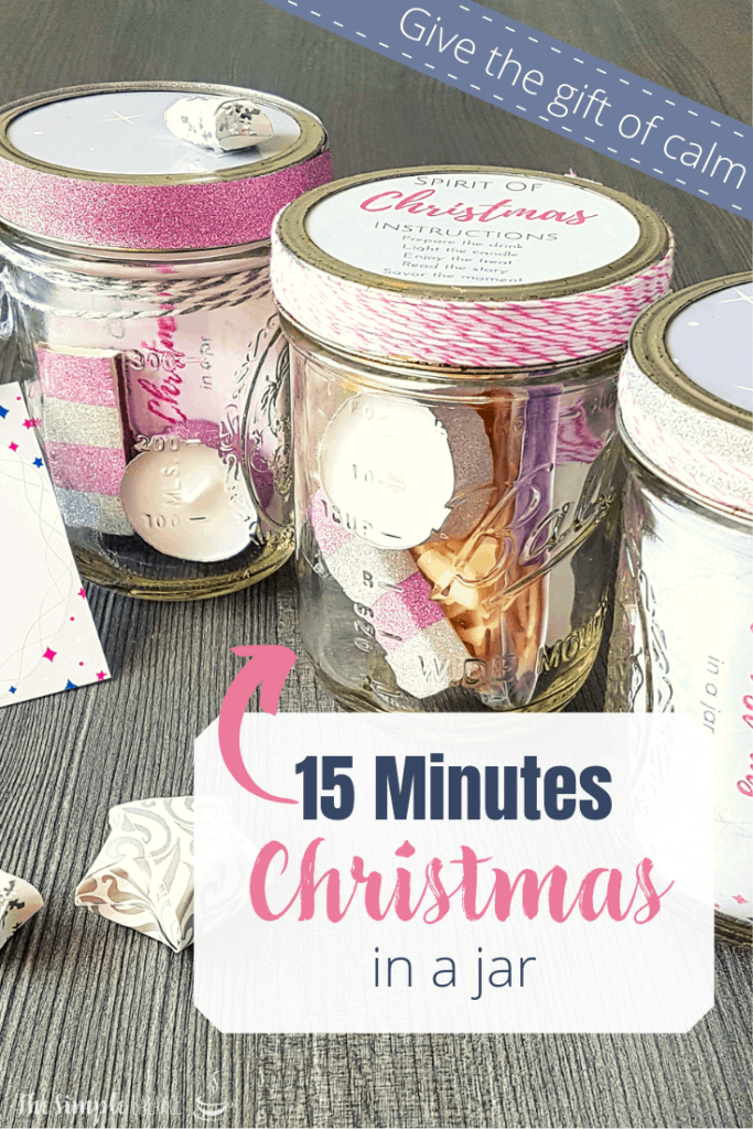 DIY gift idea: 15 Minutes of Christmas in a jar 7