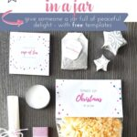 DIY gift idea: 15 Minutes of Christmas in a jar 1