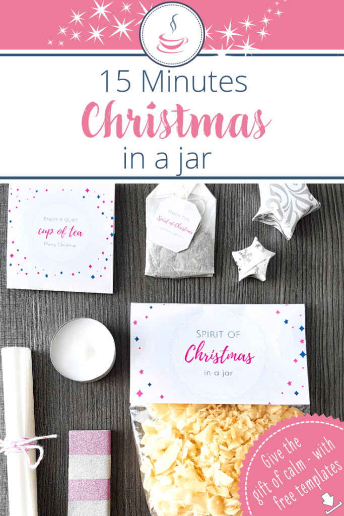DIY gift idea: 15 Minutes of Christmas in a jar 5