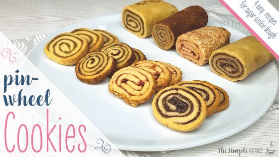 Pinwheel cookies - 4 easy fillings
