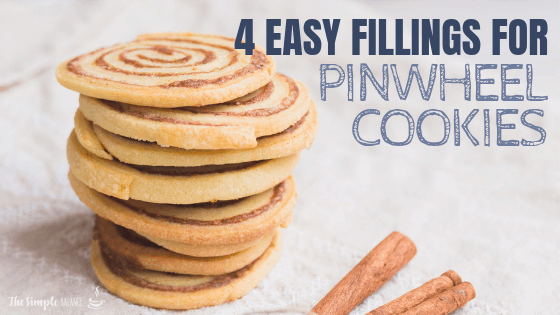 Pinwheel cookies - 4 easy fillings 2