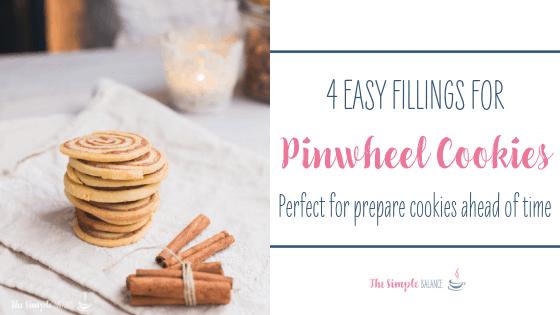 Pinwheel cookies - 4 easy fillings 1