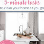 [Cleaning checklist] Transform your home with 5-minute tasks 1
