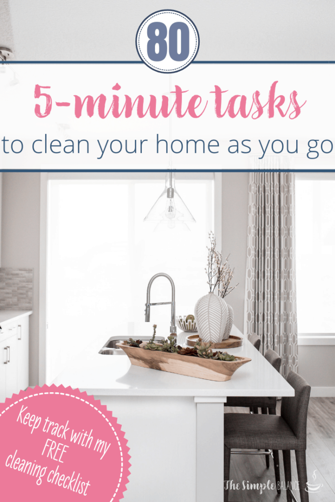 [Cleaning checklist] Transform your home with 5-minute tasks 8