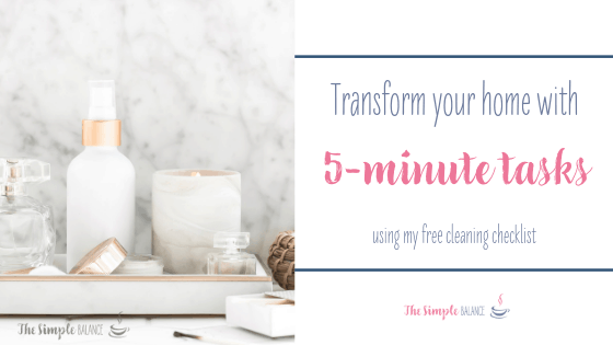 [Cleaning checklist] Transform your home with 5-minute tasks 2