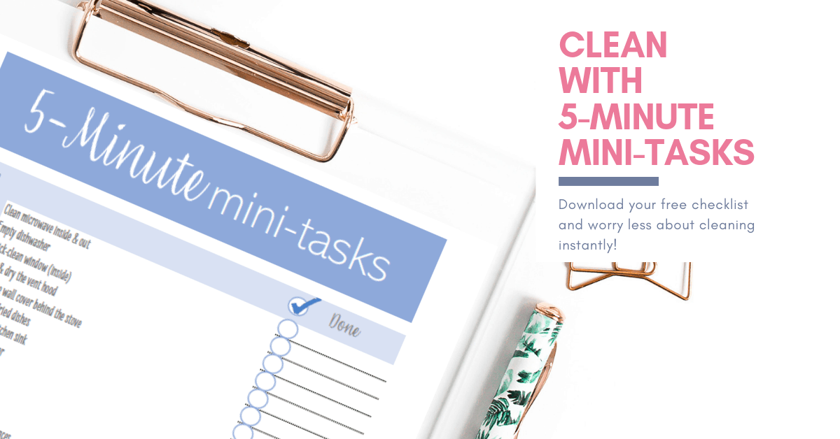 [Cleaning checklist] Transform your home with 5-minute tasks 3