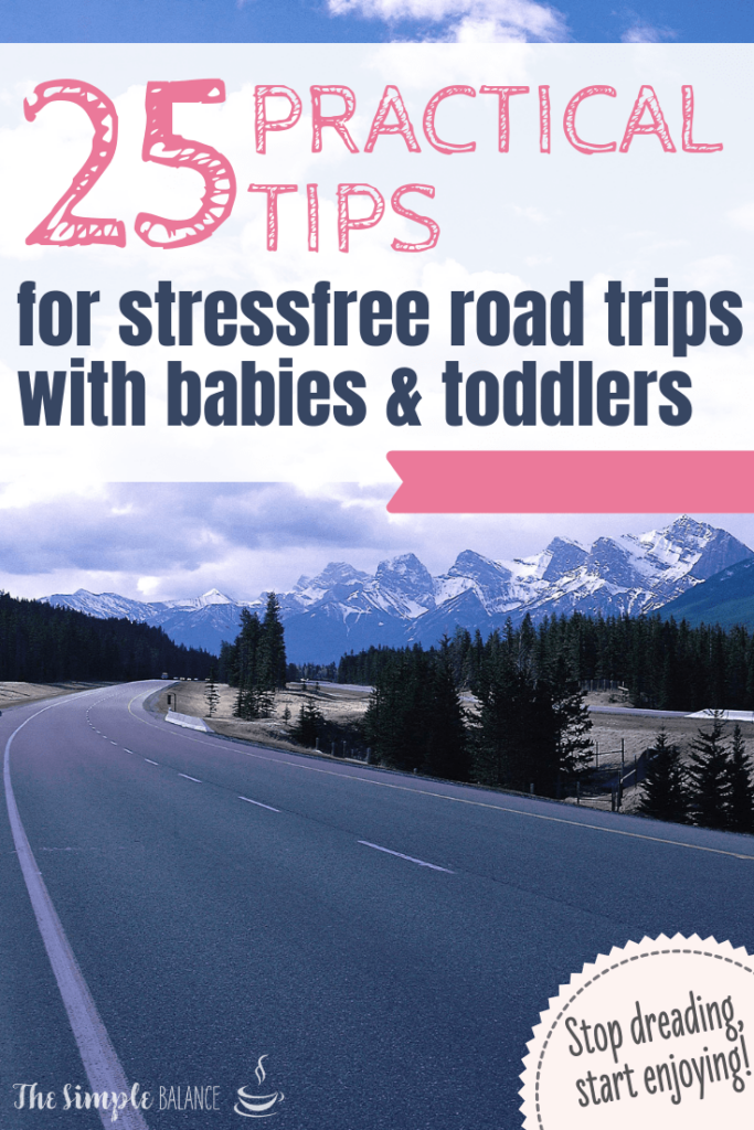25 handy tips: Road trip with babies & toddlers 12