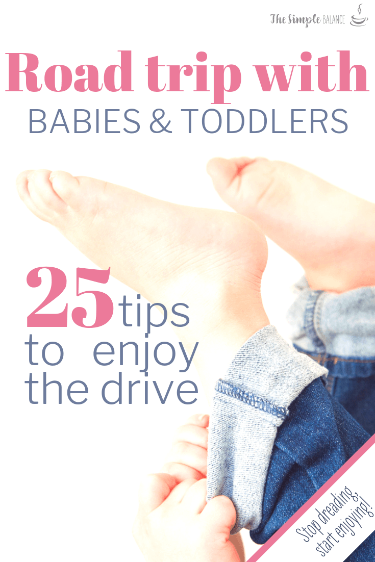 25 handy tips: Road trip with babies & toddlers 11