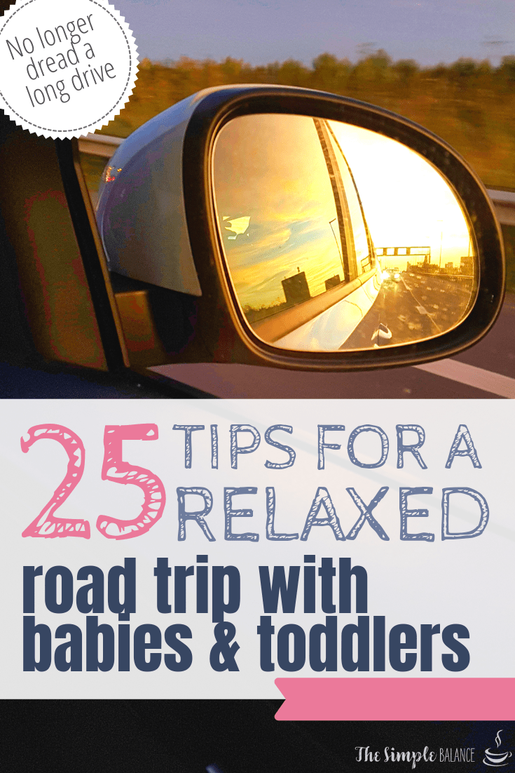 25 handy tips: Road trip with babies & toddlers 9