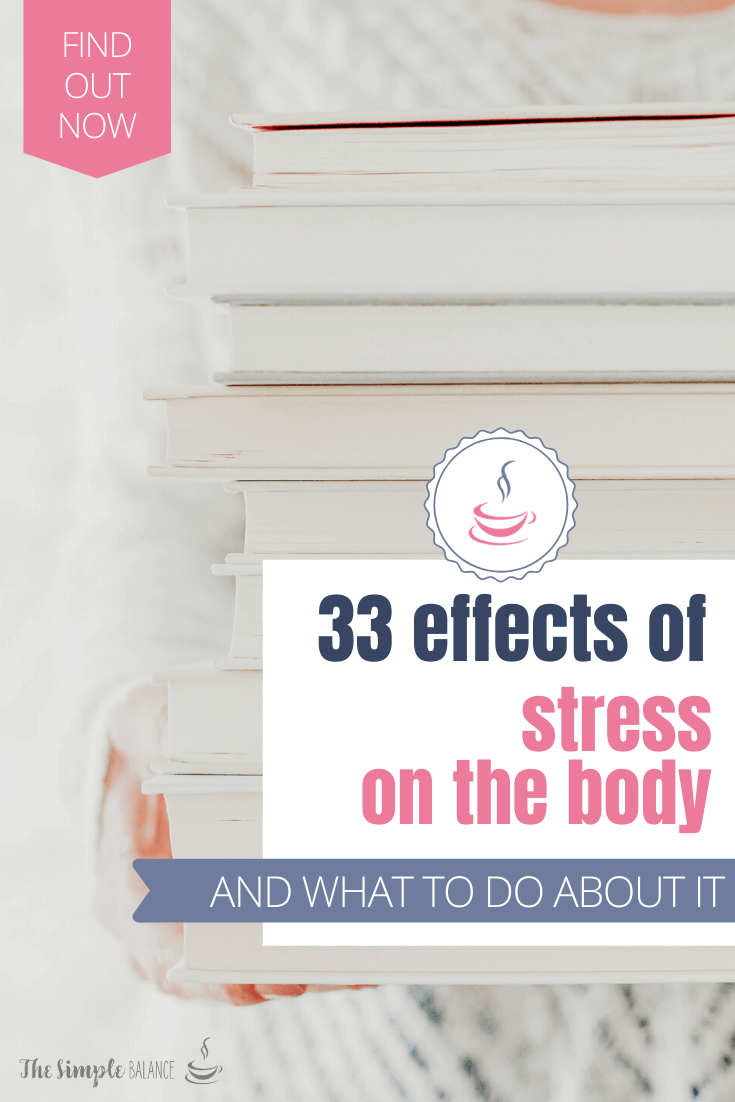 33 Effects of stress on the body 4