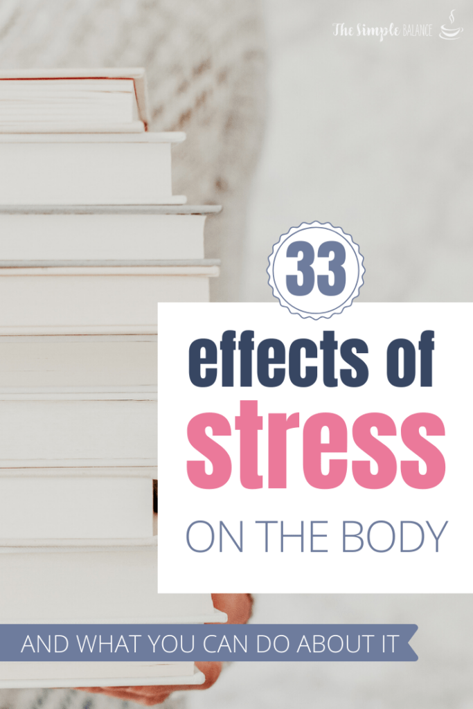 33 Effects of stress on the body 6