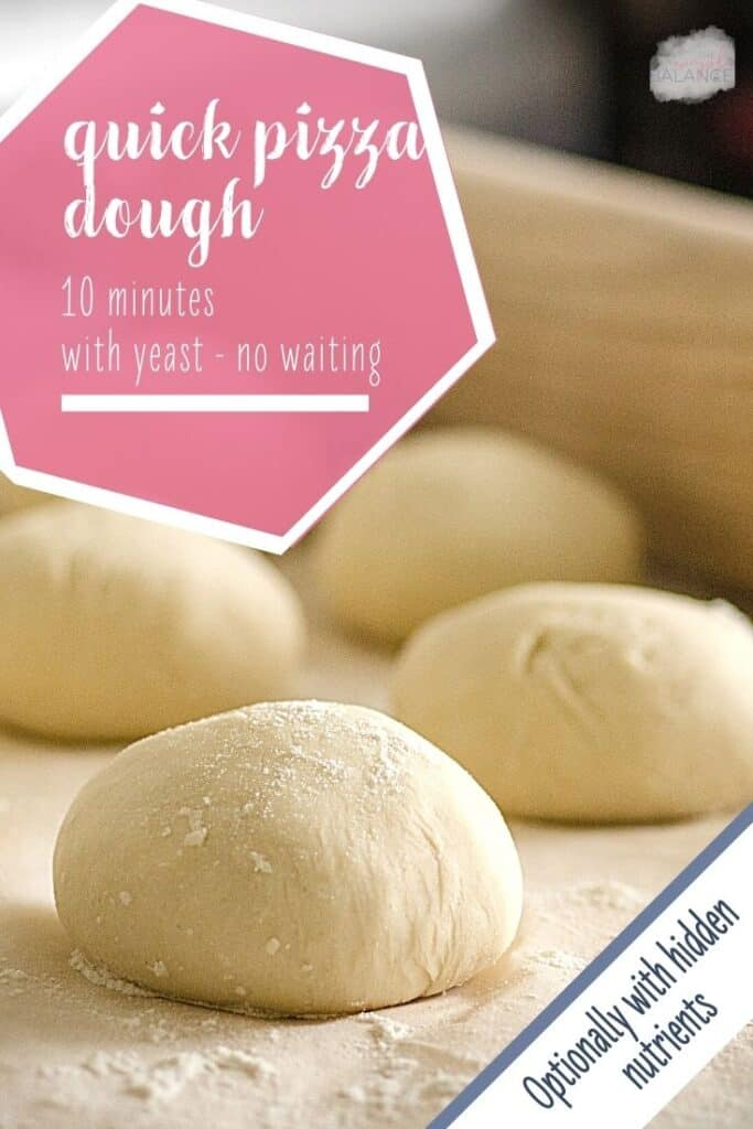 Fresh quick pizza dough in just 10 minutes 2